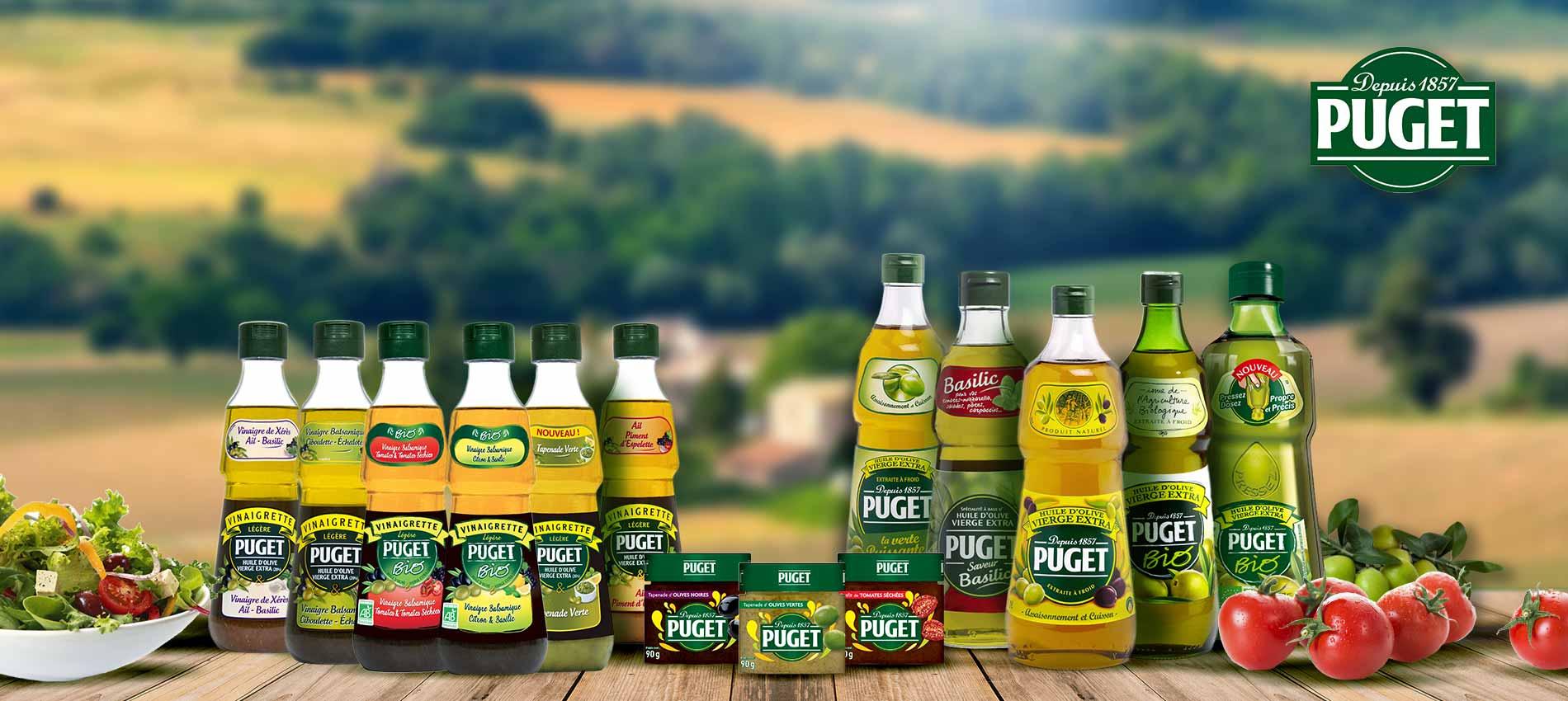 Gamme produits Puget